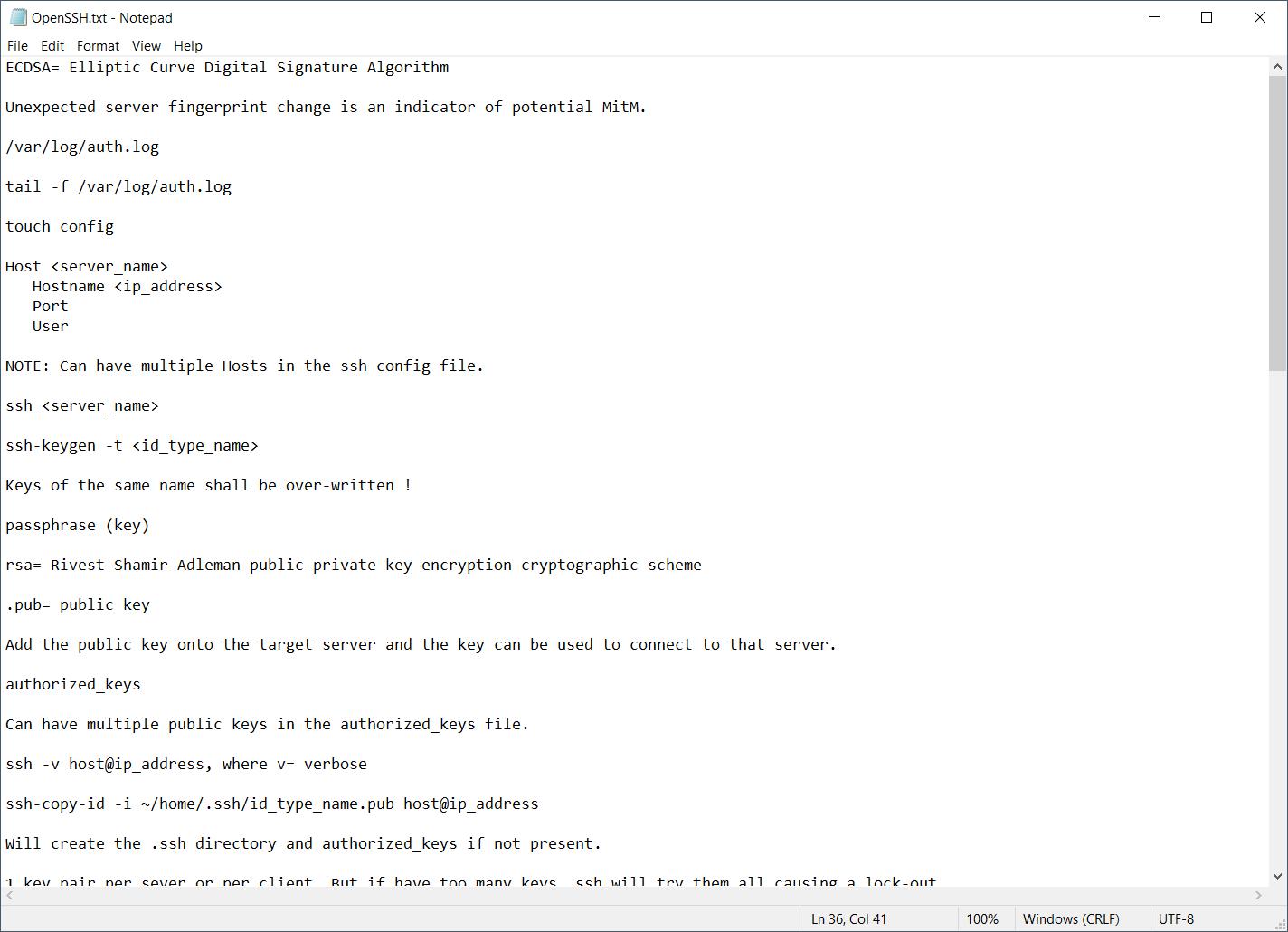 2021-05-20 14_21_40-OpenSSH.txt - Notepad